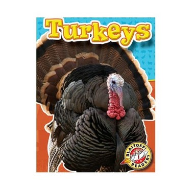 Farm Animals: Turkeys Book