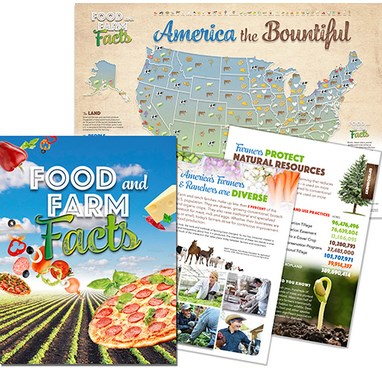 Food And Farm Facts - Book & Map
