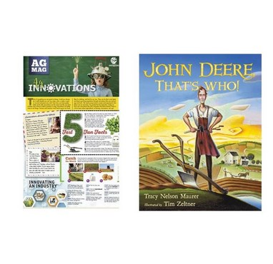 John Deere That's Who Book And Ag Innovations Ag Mag