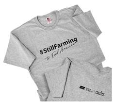 #StillFarming Tee, size large