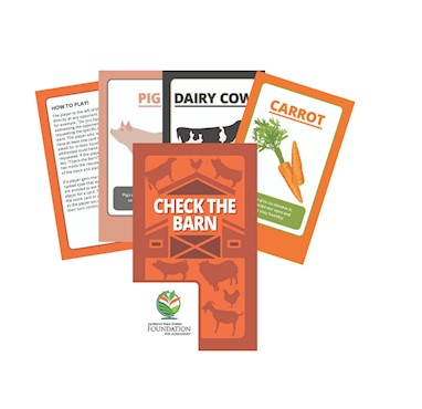 Check The Barn Card Game