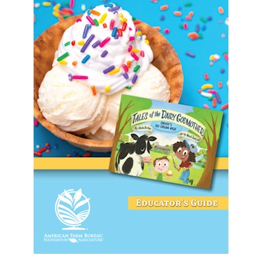 Chuck'S Ice Cream Wish (Tales Of The Dairy Godmother) Educator' S Guide