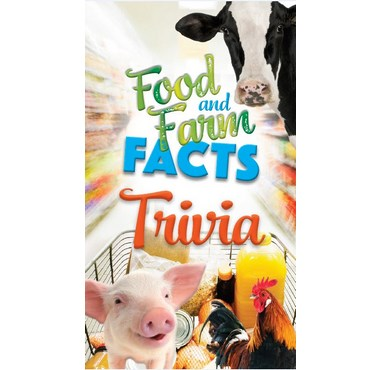 2019 Food And Farm Facts Trivia Cards