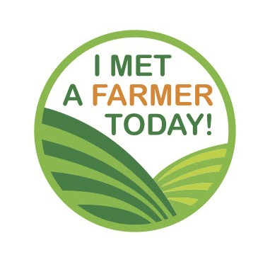 Stickers - I Met A Farmer Today!