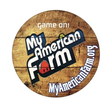 My American Farm Sticker