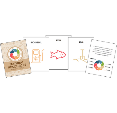 Natural Resources Playing Cards